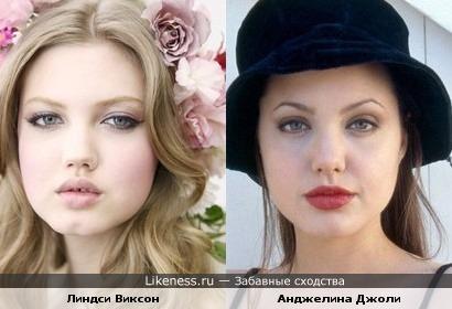 Модель напомнила молодую Джоли