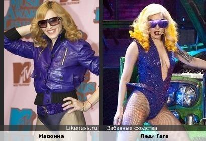 Мадонна продолжает вдохновлять Леди Гагу