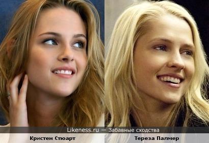 На этом фото Тереза Палмер похожа на Кристен Стюарт