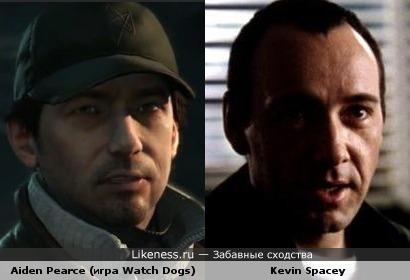 Персонаж игры Watch Dogs похож на Кевина Спейси