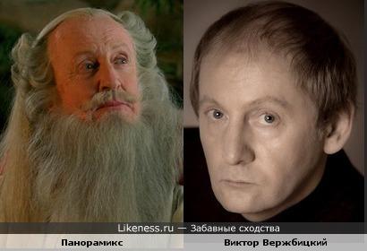 Виктор Вержбицкий похож на Панорамикса
