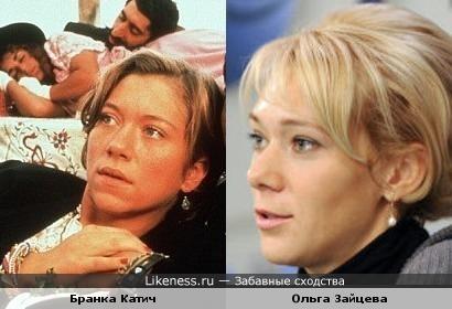 Героиня фильма Кустурицы похожа на российскую биатлонистку
