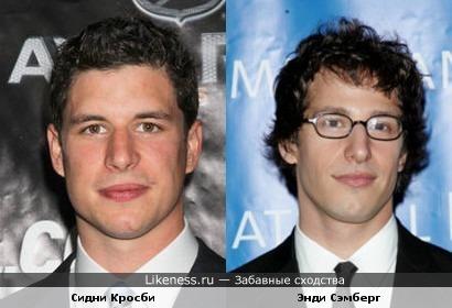 Если с комика снять очки, он станет великим хоккеистом?