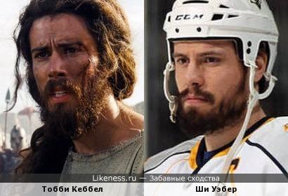 Британский актер похож на канадского хоккеиста