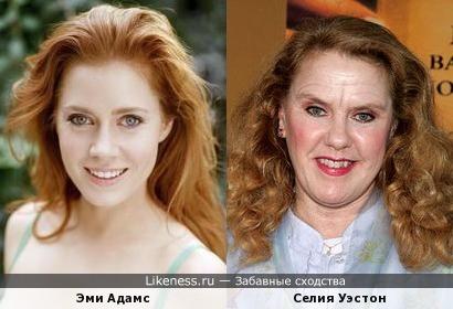 Возможно, в старости Эми Адамс будет выглядеть так