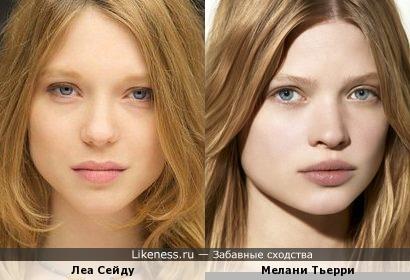Две французские актрисы