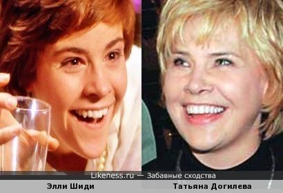Американская актриса похожа на Догилеву
