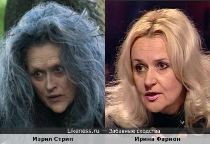 Мэрил Стрип в фильме Бёртона похожа на Ирину Фарион