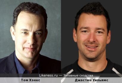 Хоккеист напоминает Тома Хэнкса