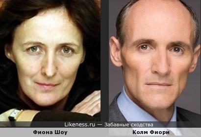 Фиона и Фиори (тётя Гарри Поттера против лидера некромонгеров)
