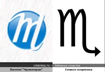 """Логотип онлайн-словаря """"Мультитран"""" похож на символ знака зодиака Скорпион"""