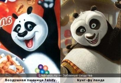 Панда + панда = дружная команда!
