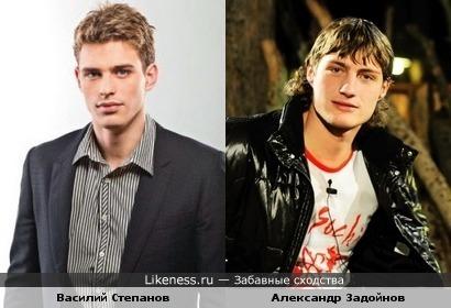 Василий Степанов и Александр Задойнов (Дом-2) похожи