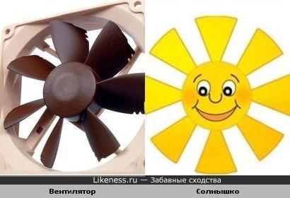 Солнечный вентилятор