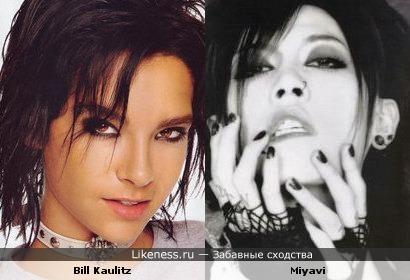 Bill Kaulitz и Miyavi