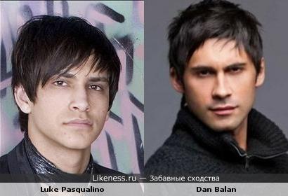 Luke Pasqualino похож на Dan Balan