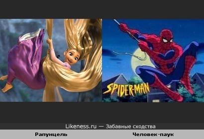 Человек-паук и его девушка =)