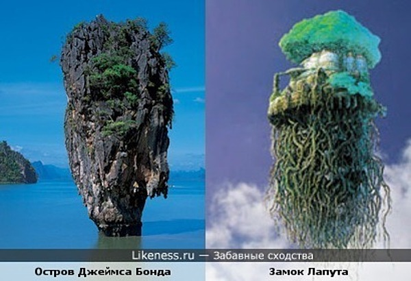 Остров Джеймса Бонда в Тайланде похож на Небесный Замок