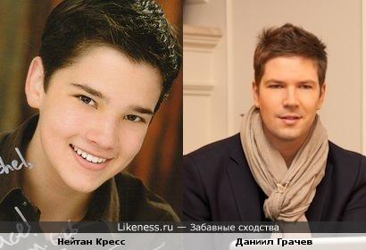 Даниил Грачев чем-то похож на Нейтана Кресса