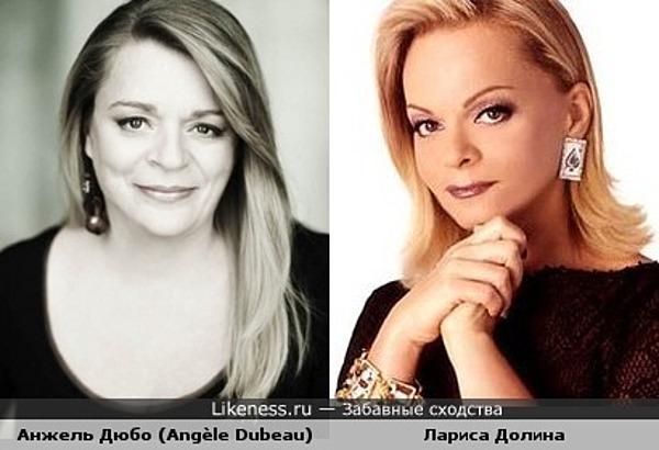 Скрипачка Анжель Дюбо (Angèle Dubeau) похожа на Ларису Долину