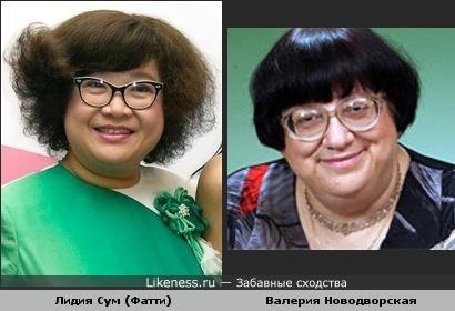 Китайская актриса похожа на Валерию Новодворскую