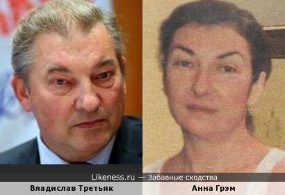 Жена Эрнста Неизвестного похожа на Третьяка