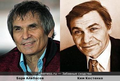 Бари Алибасов и Ким Костенко