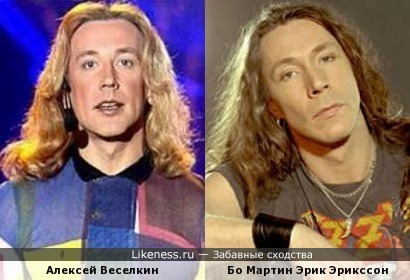 Алексей Веселкин и вокалист E-Type