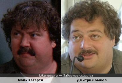 Майк Хагерти и Дмитрий Быков