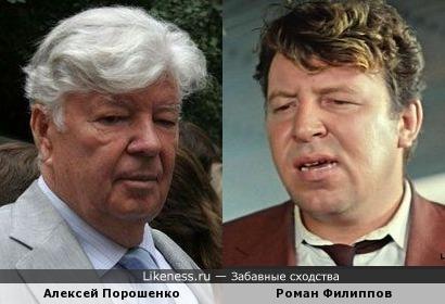 Алексей Порошенко и Роман Филиппов