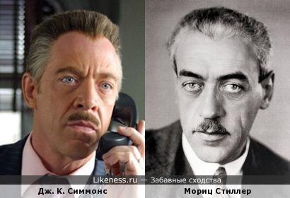 Дж. К. Симмонс и Мориц Стиллер