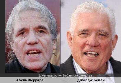 Абель Феррара и Джордж Бейли