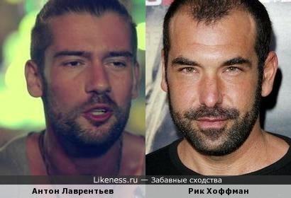 Антон Лаврентьев и Рик Хоффман