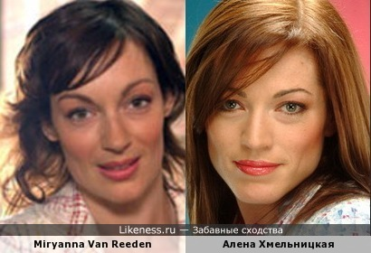 Актрисы из Голландии и России