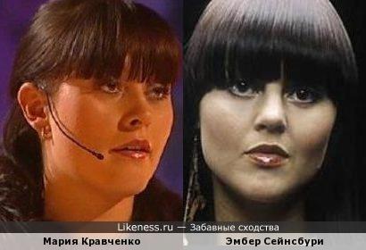 Мария Кравченко и Эмбер Сейнсбури