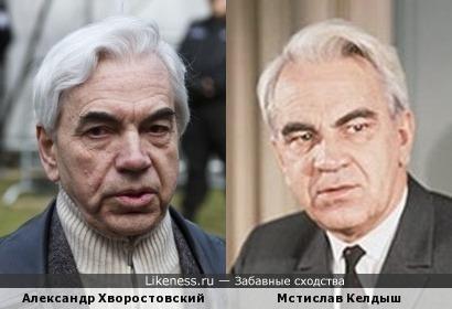 Александр Хворостовский и Мстислав Келдыш