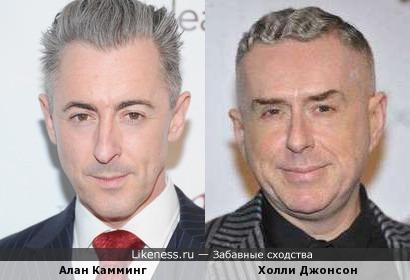 Алан Камминг и Холли Джонсон