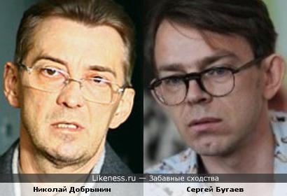 Николай Добрынин и Сергей Бугаев