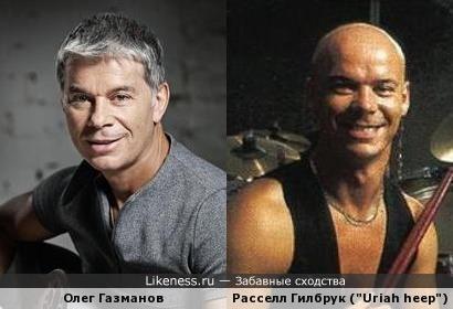 """Олег Газманов похож на барабанщика легендарных """"Uriah heep"""