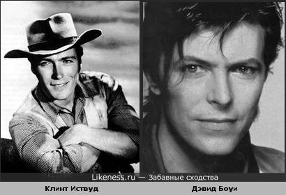 Клинт Иствуд напомнил Дэвида Боуи