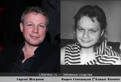 Жигунов похож с Вадимом Степанцовым