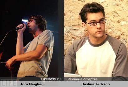 Том Мейган похож на Джошуа Джексона
