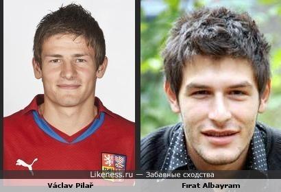 Václav Pilař похож на Fırat Albayram