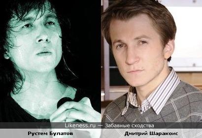 Чем-то Рустем Булатов напоминает Дмитрия Шаракоиса(чем именно-не знаю)