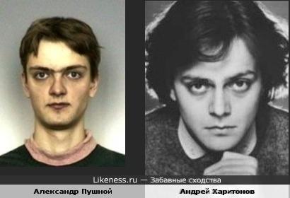 Андрей Харитонов чем-то напомнил Пушного
