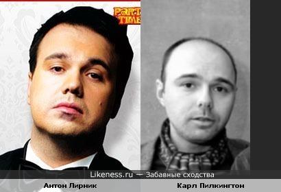 Антон Лирник и Карл Пилкингтон(разница в возрасте РОВНО 4 года)