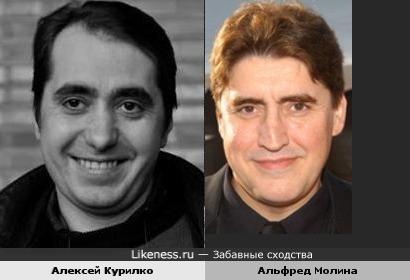 Алексей Курилко напомнил Альфреда Молина