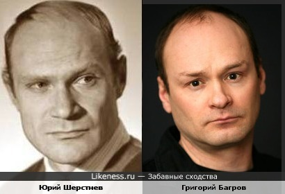 Юрий Шерстнев и Григорий Багров показались похожими