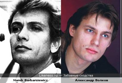 Польский актер Marek Barbarsiewicz напомнил Александра Волкова