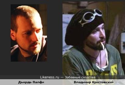 Венгерский актер Дьордь Палфи похож на Владимира Кристовского